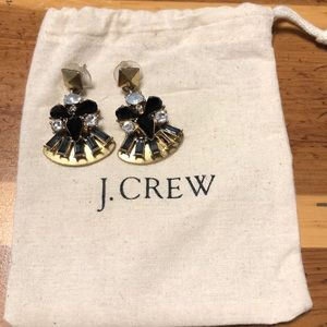 J Crew bling dangle earrings